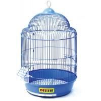 DEZZIE Клетка для птиц круглая 33х52см 5603025