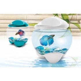 Tetra Betta Bubble белый - аквариум-шар 1,8 л