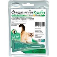 Фронтлайн Комбо капли для кошек для защиты от клещей и блох, К пипетка 0,5 мл