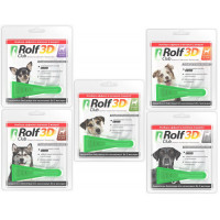 ROLF CLUB Капли для собак от клещей