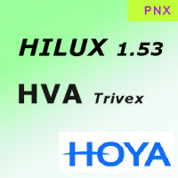 HOYA Hilux 1.53 PNX Hi-Vision Aqua (HVA) ультрапрочная линза c базовым покрытием