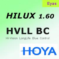 HOYA Hilux 1.60 EYAS Hi-Vision Long Life Blue Control (HVLL-BC) ультратонкие линзы