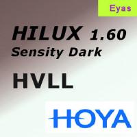 HOYA Hilux Sensity 1.60 EYAS Hi-Vision LongLife (HVLL) фотохромная линза