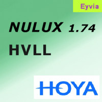 HOYA Nulux индекс 1.74 EYAVIA покрытие Hi-Vision LongLife (HVLL-AS) асферический дизайн