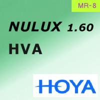 HOYA Nulux индекс 1.60 MR-8 покрытие Hi-Vision Aqua (HVA-AS) асферический дизайн