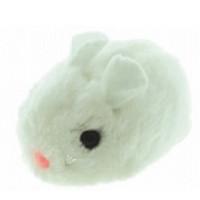 """DEZZIE ВиброИгрушка для кошек мышь """"Актив"""" №1, 8см, цвет белый"""