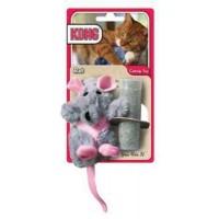 """Kong игрушка для кошек """"Крыса"""",плюш и кошачья мята (22003) NR45"""