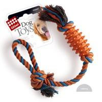 Dog Toys Резиновая палка с веревкой 49см