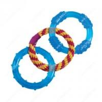 """Petstages игрушка для собак """"ОРКА 3 кольца"""" 23 см"""