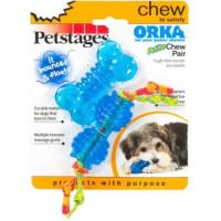 """Petstages набор для собак мелких пород """"ОРКА косточка+гантеля"""" ультра-мини"""