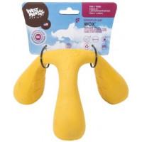 Zogoflex Air Wox игрушка интерактивная для собак 10x15x17 см желтая