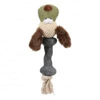 """Zolux Игрушка плюшевая комбинированная для собак """"Собака"""" 25 см"""