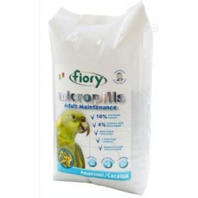 FIORY Micropills Amazzoni/Cacatua корм для амазонских попугаев и какаду 2,5 кг