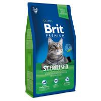 Brit Premium Cat Sterilized для кастрированных котов, курица