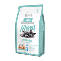 Brit Care Cat Missy for Sterilised корм для кастрированных кошек и котов курица