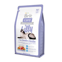 Brit Care Cat Lilly Sensitive Digestion беззерновой для кошек с чувствительным желудком ягненок лосось