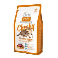 Brit Care Cat Cheeky Outdoor для активных кошек и кошек уличного содержания оленина