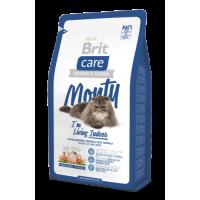 Brit Care Cat Monty Indoor гипоаллергенный корм для кошек, живущих в квартире курица