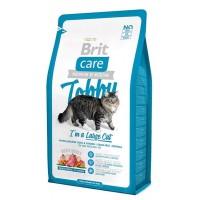 Brit Care Cat Tobby гипоаллергенный беззерновой корм с уткой и курицей для кошек крупных пород
