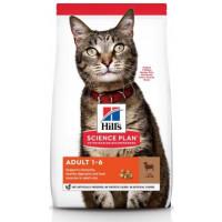 HILLS SP Adult Cat Lamb сухой корм для взрослых кошек ягненок