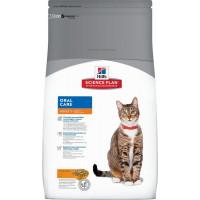 HILLS SP Adult Cat Oral Care сухой корм для кошек для очистки зубов