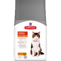 HILLS SP Adult Cat Hairball Control корм для взрослых кошек выведения комков шерсти