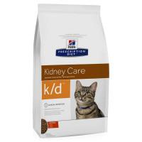 HILLS PD K/D сухой корм для взрослых кошек с заболеваниями почек