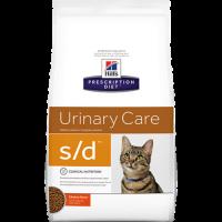 HILLS PD S/D сухой корм хиллс для кошек со струвитными камнями