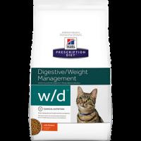 HILLS PD W/D сухой корм для взрослых кошек для поддержания оптимального веса