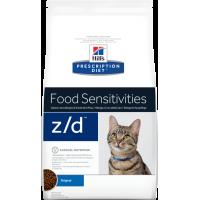 HILLS PD Z/D сухой для кошек при пищевой аллергии