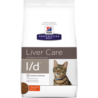 HILLS PD l/d сухой корм для взрослых кошек при заболеваниях печени