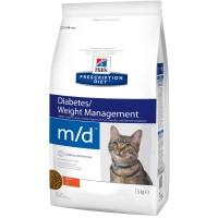 HILLS PD m/d диетический корм для кошек для поддержания здоровья при сахарном диабете
