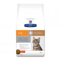 HILLS PD k/d+Mob сухой корм  для кошек почки+ суставы 2 кг.