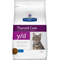 HILLS PD y/d диета для кошек с заболеванием щитовидной железы
