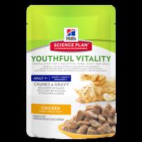 HillS SP Youthful Vitality корм для кошек старше 7 лет