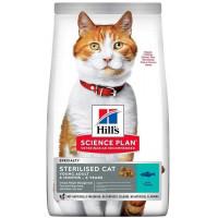 HILLS SP Sterilised Cat сухой корм для стерилизованных кошек до 6 лет с тунцом