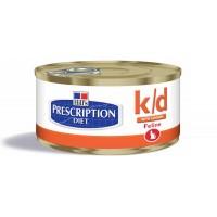 HILLS PD K/D консерва для кошек с заболеваниями почек 156 гр