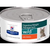HILLS PD W/D консервы для кошек для поддержания оптимального веса