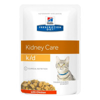 HILLS PD K/D пауч для кошек с заболеваниями почек курица