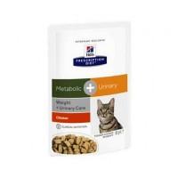 HILLS PD Meta+ пауч для кошек коррекция веса урология 85гр.