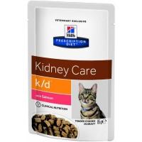 HILLS PD K/D пауч для кошек с заболеваниями почек лосось