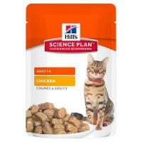 HILLS SP влажный корм для взрослых кошек курица пауч 85 гр.