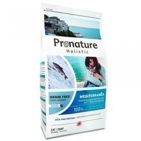 Pronature Holistic GF сухой корм для кошек Средиземноморское меню