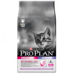 Проплан Junior Delicate для котят с чувствительным пищеварением, индейка