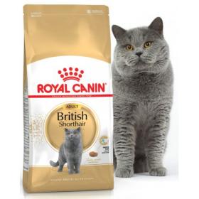 Royal Canin British Shorthair корм для взрослых кошек пород британская короткошерстная и скоттиш-фолд