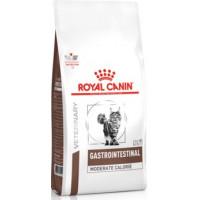 Royal Canin Vet Gastro Intestinal Moderate Calorie GIM 35 Feline диета для кошек с пониженным содержанием калорий при нарушении пищеварения