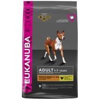 EUKANUBA Dog для взрослых собак средних пород (Эукануба)