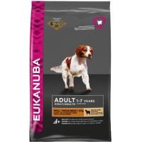 EUKANUBA Dog для взрослых собак мелких и средних пород ягненок 2,5 кг