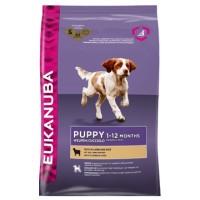 EUKANUBA Dog для щенков всех пород ягненок (Эукануба)