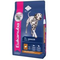 EUKANUBA DOG MATURE & SENIOR для зрелых и пожилых собак всех пород с ягненком и рисом